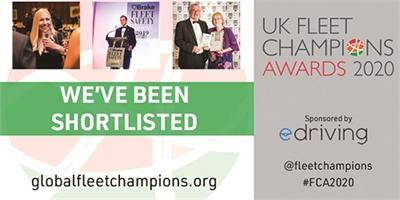 Gist shortlisted for UK Fleet Champions Award 2020