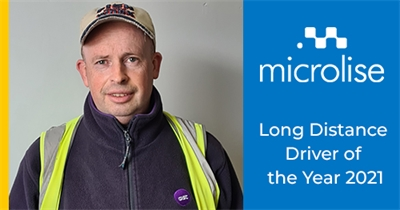 Gist Driver wins Microlise Long Distance Driver of the Year 2021