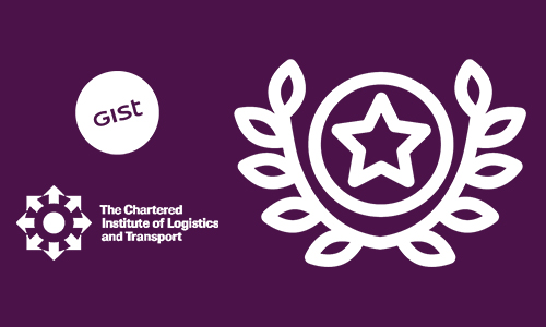 Gist shortlisted for three Chartered Institute of Logistics and Transports Awards