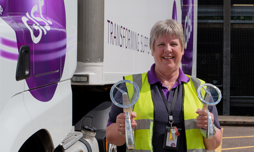 GIST DRIVER NAMED FIRST FEMALE MICROLISE DRIVER OF THE YEAR 2020
