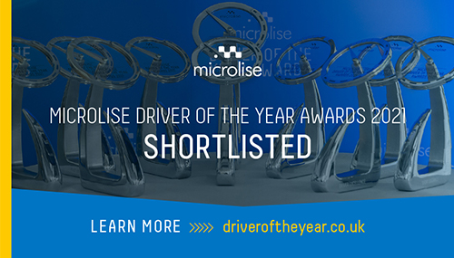 Gist Drivers shortlisted for Microlise Driver of the Year Awards