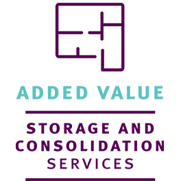 Added value storage and consolidation services