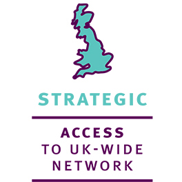 Strategic access to UK-wide network